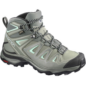 Salomon X Ultra 3 GTX Mid Shoes Women Shadow/Castor Gray/Beach Glass